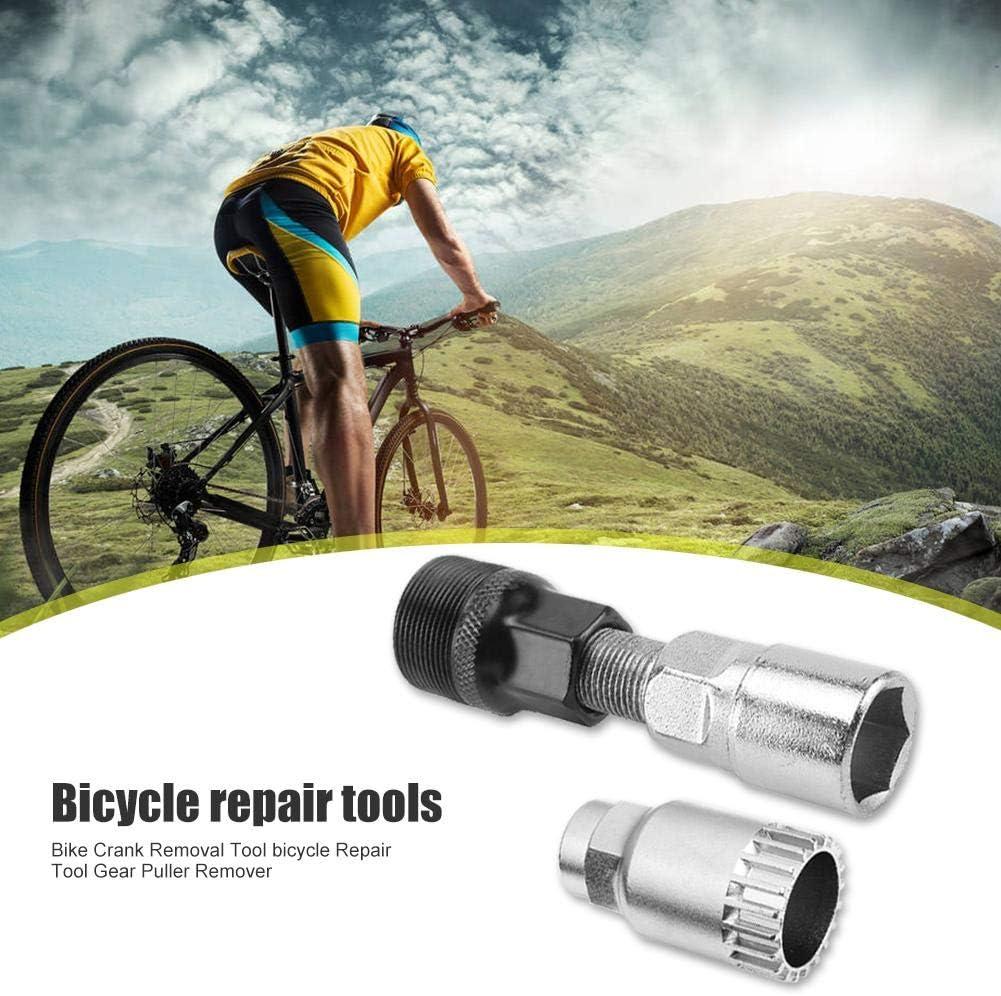 Demiawaking Kit Attrezzi Bicicletta Estrattore per Movimento Centrale Estrattore per Pedivella Bici Strumento di Piparazione Biciclette MTB Bici da Strada