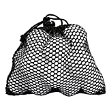 YDZN Nylon Mesh Nets Bag Golf Table Tennis Ball Storage Pouch Carrying Holder 3 Sizes(No Golf Balls)