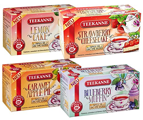 Blueberry Cheesecake Muffin - Teekanne Fruit Tea