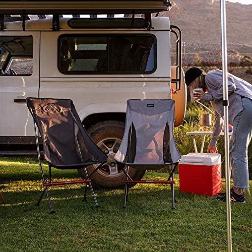 Naturehike Ligero Compacto Port/átil Plegable Al Aire Libre Pesca Silla de Picnic Plegable Silla de Playa Silla de Camping Plegable Asiento NH18Y060-Z
