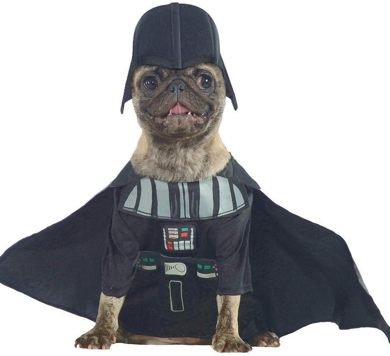 Darth Vader Personaggio di Star Wars Rubies Vestito per Cani