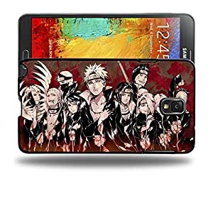 Case88 Designs Naruto Akatsuki Protective Snap-on Hard Back Case Cover for Samsung Galaxy Note 3