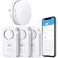 3-Pack Govee WiFi Connected Water Sensor with 100dB Alarm