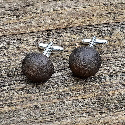 Shaman Stones - Mochi Marbles - Boji Stones Cufflinks - Spirit and Energy - Handmade