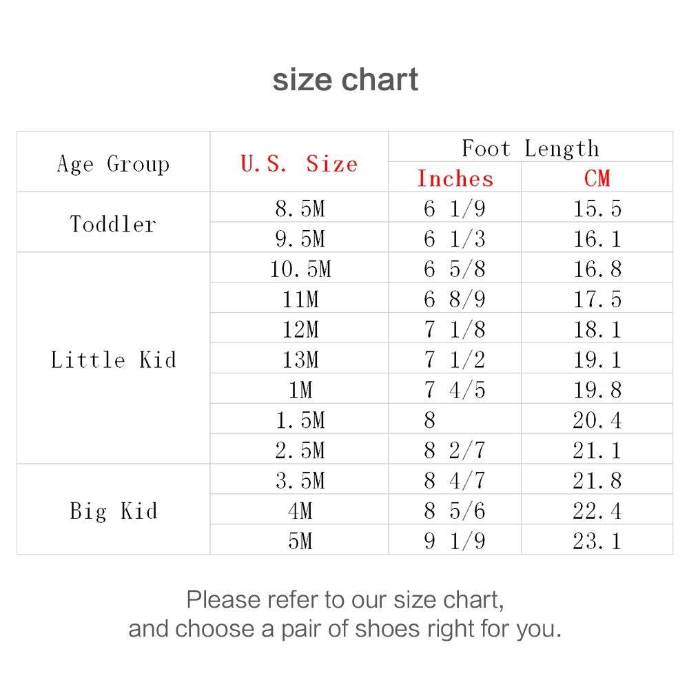 GUBARUN Kids Running Shoes Boys and Girls Lightweight Comfortable Walking Sneakers(12.5, White) by GUBARUN (Image #7)