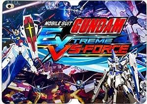 [PU del tirón del cuero] iPad mini 4 funda, iPad mini 4 Case, [Tema: Mobile Suit Gundam] - AK7523