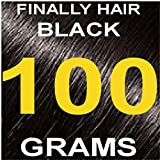Finally Hair Hair Fiber Refill 100 Grams For Hair Loss Concealing by Finally