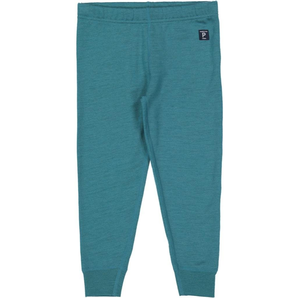 Polarn O. Pyret Wool Terry Pull ON Pants (2-6YRS) - Colonial Blue/4-6 Years by Polarn O. Pyret