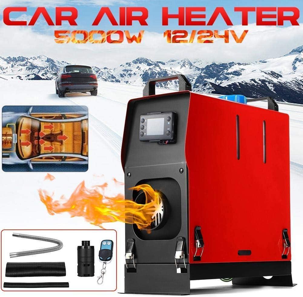 Air Diesel Heater 24v pour lautobus de camion de voiture R/échauffeur dair diesel,Le r/échauffeur de carburant diesel dair de stationnement a plac/é 5kw 12v