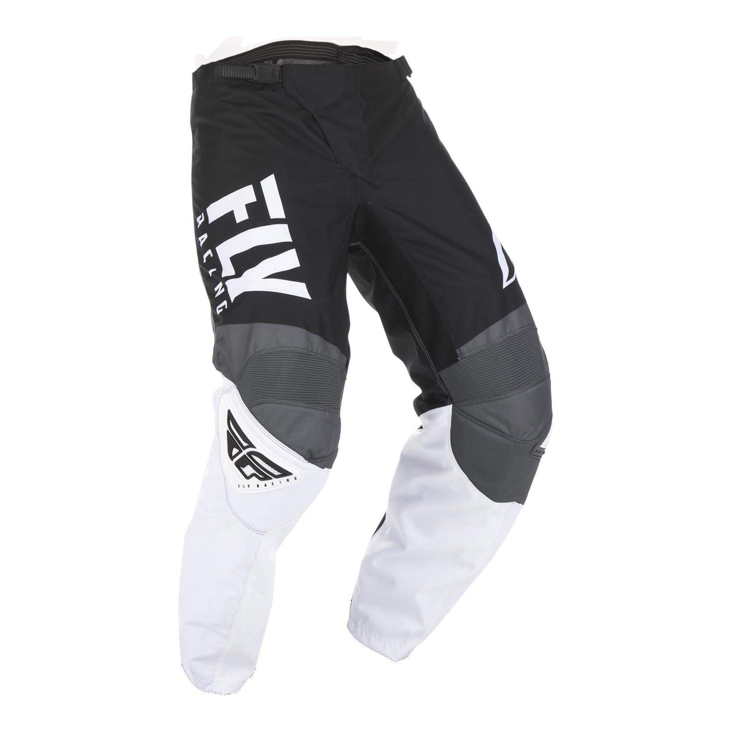 Fly Racing 2019 Youth F-16 Pants (26) (Black/White/Grey)