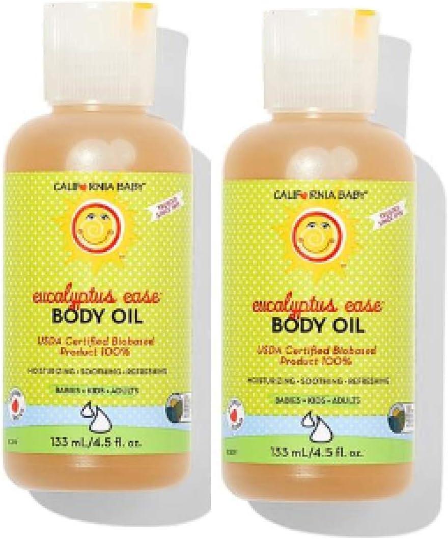 California Baby 55% OFF Eucalyptus Ease Massage Aromatherapy 4.5 Easy-to-use - Oil