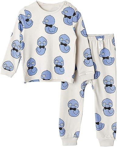 Pijama Para Niños Chica Cálido Ropa Cómoda 2 Piezas De Invierno ...