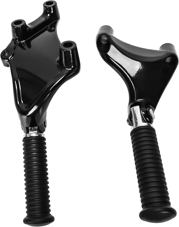 REFURBISHHOUSE pour 2014-2017 Harley Sportster XL 883 1200 X48 72 Repose-Pieds Arri/ère Assemblage de Repose-Pieds de Passager avec Vis de Fixation