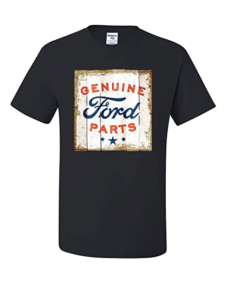 Amazon.com: Piezas originales de Ford antiguo cartel playera ...