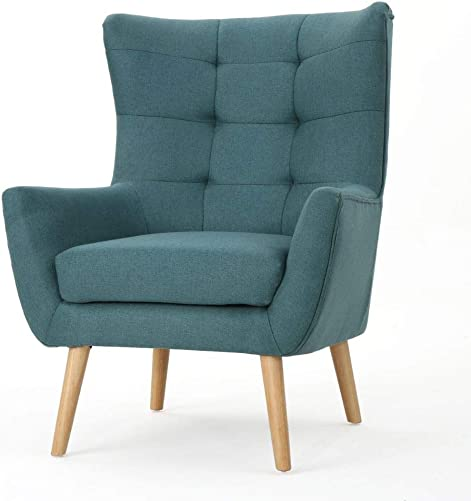 Christopher Knight Home Tamsin Fabric Mid-Century Club Chair - a good cheap living room chair