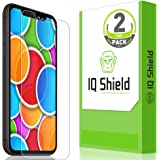 IQ Shield Screen Protector Compatible with Apple iPhone XR (2-Pack)(Max Coverage) Anti-Bubble Clear Film