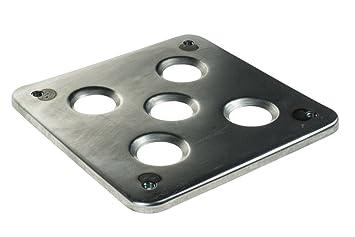 motamec seco para cárter del depósito de aceite Base - fabricado en acero soldadura en pantalla plana Plataforma Placa: Amazon.es: Coche y moto