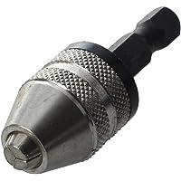Portabroca - SODIAL(R)Plata + Negro 6 mm Broca
