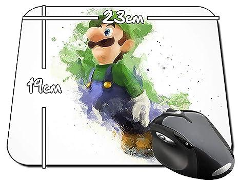 Super Mario Luigi Mousepad PC vídeo Juego