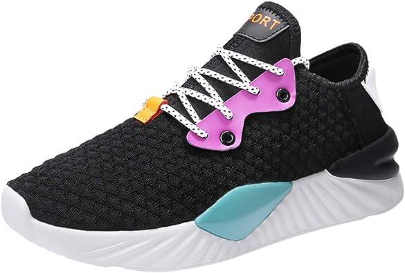 Zapatos de Deporte Caminar Trabajo TWIFER Zapatillas Running Hombre Correr Trail Fitness Sneakers Atlético Ligero Entrenamiento Suela Suave Verano 2019 Casuales Moda Shoes 39-44: Amazon.es: Zapatos y complementos