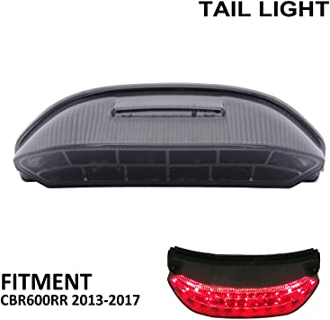 YSMOTO Motorcycle Rear LED Taillights Integrated Tail Signal light Lamp Turn Signal and Brake Lights For HONDA CBR1000R CBR 1000R 2013 2014 13 14 13-14 2013-2014 Street Motorcycle