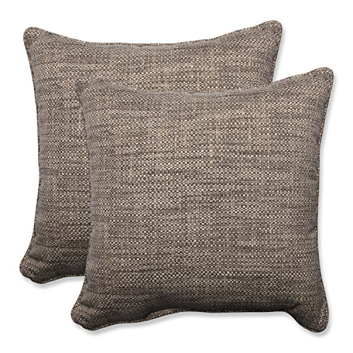 Pillow Perfect Outdoor Indoor Remi Patina Throw Pillow Set of 2 , 18.5 ,