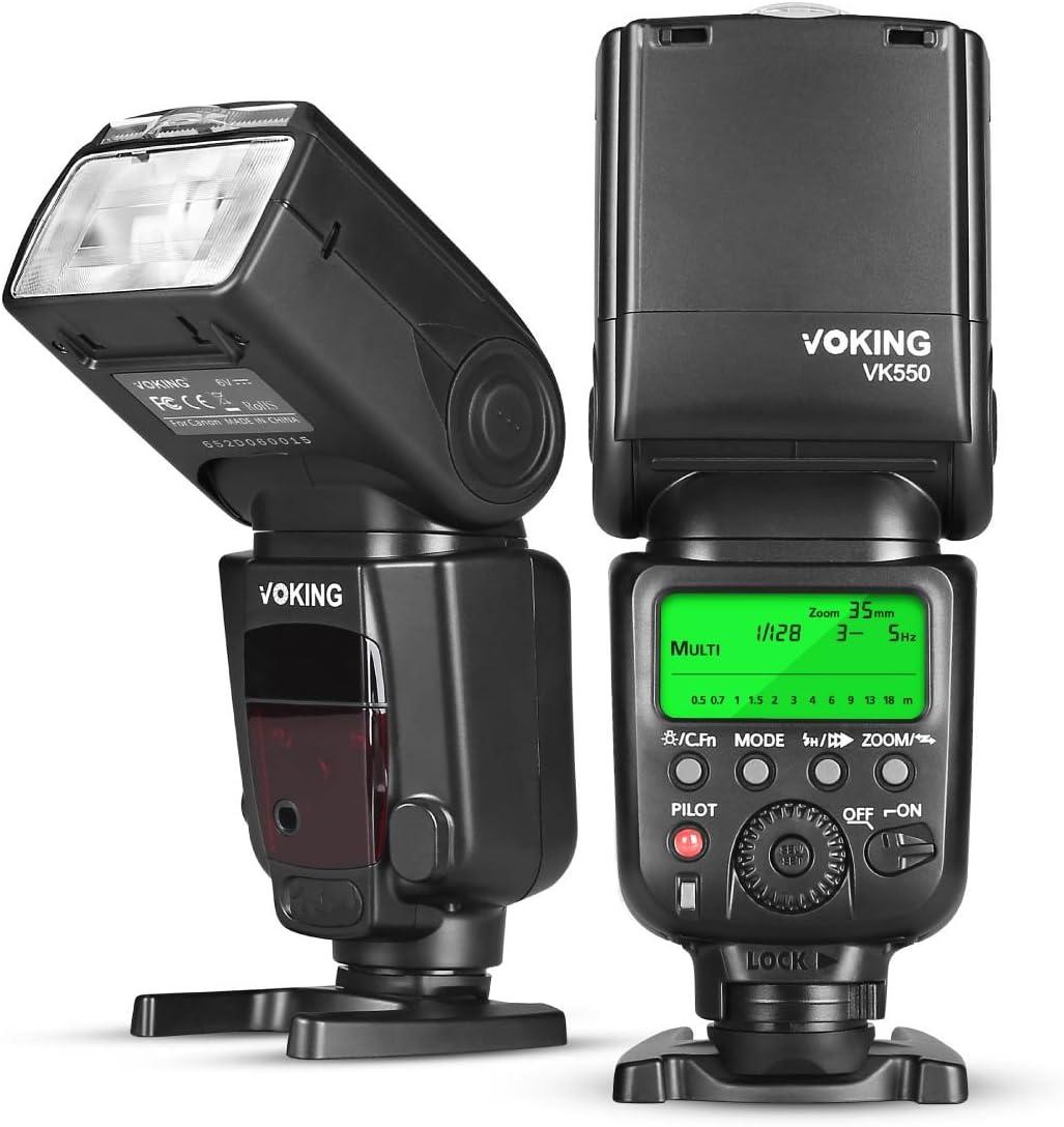 Compact LCD Mult-Function Flash e-TTL, e-TTL II, M, Multi for Canon EOS 5D Mark III