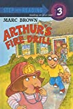 img - for Arthur's Fire Drill (Step Into Reading Sticker Books (Pb)) book / textbook / text book