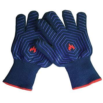 Barbacoa guantes para barbacoa guantes, 932 °F(500 °C) Extreme resistente