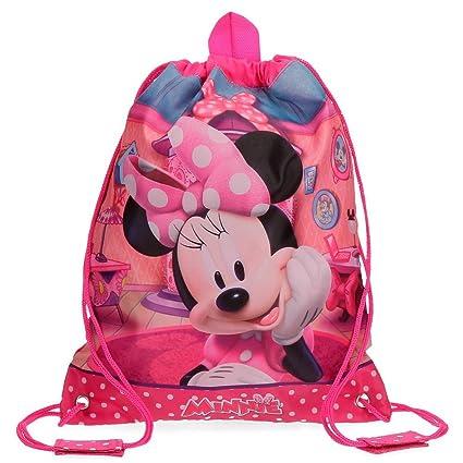 Disney Minnie Smile Mochila Infantil, 34 cm, 0.92 Litros, Rosa