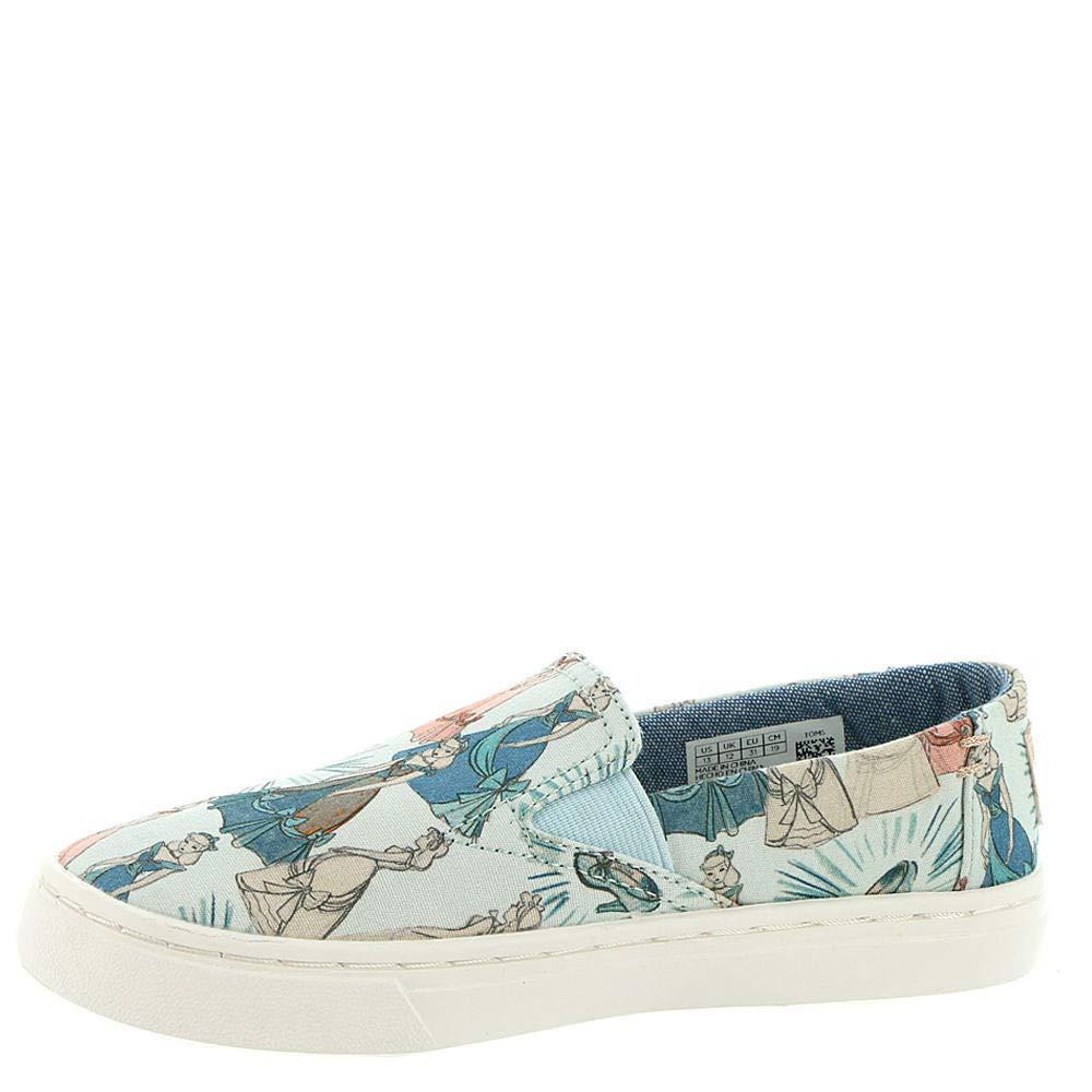 TOMS Girl's, Luca Slip on Shoes Disney Cinderella 1.5 M by TOMS Kids (Image #4)