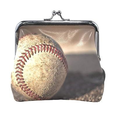 Amazon.com: Monedero monedero de béisbol para mujer ...