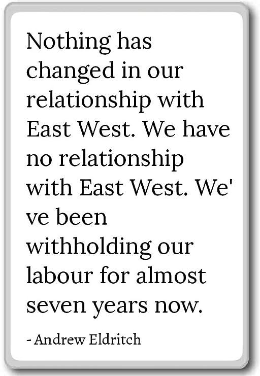 Nada ha cambiado en nuestro ingenio de relación. - Imán para ...