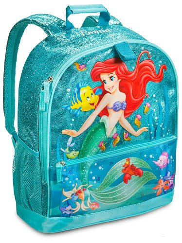 88f83fc94559 Disney Store Princess Ariel The Little Mermaid Backpack for - Import It ...