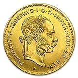 1892 AT Austria Gold 4 Florin/10 Francs Franz Joseph AU Gold About Uncirculated