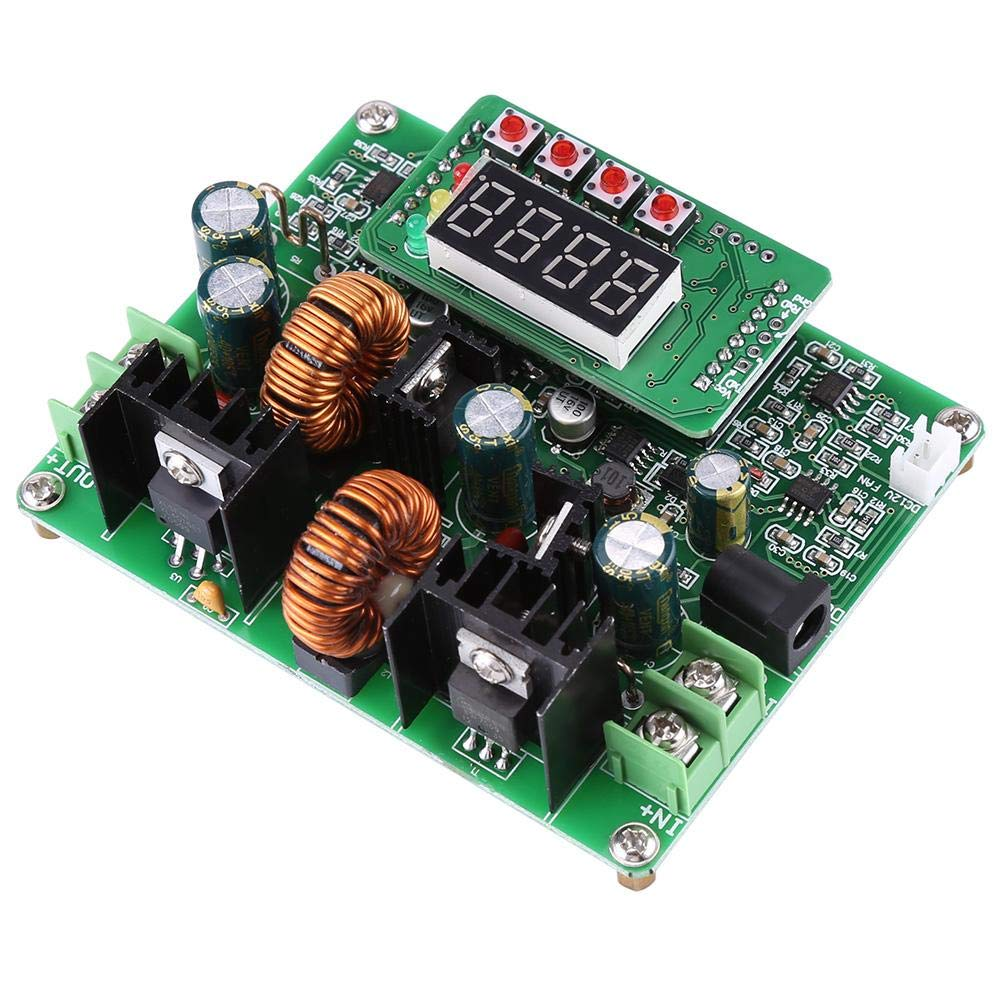 Automatic or Manual 38V 6A DC-DC Boost Module Voltage Step-up Step-down Module Digital Buck Boost Converter with 4 Digit Display