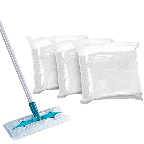 Paños Secos Toallitas Húmedas Paños Electrostático Atrapapolvo Para La Limpieza De Suelos y Muebles (3