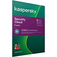 Kaspersky Security Cloud - Family   10 Devices   1 Year   Antivirus, Secure VPN and Password Manager Included   PC/Mac…