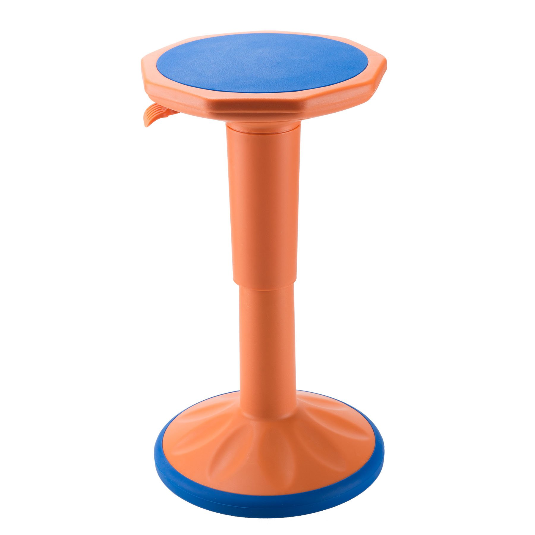 CO-Z Active Learning Stool, Sitting Balance Chair w/Adjustable Height for Office Stand Up Desk (Real Active - Orange)