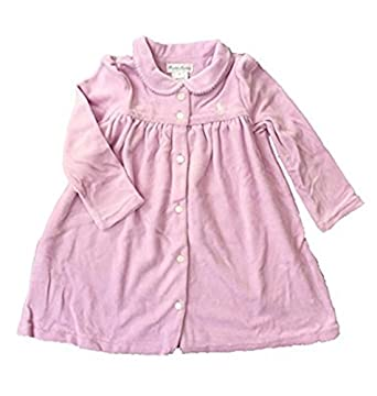 b859ca1f Amazon.com: Ralph Lauren Girl Long Sleeve Velour Dress & Underwear ...