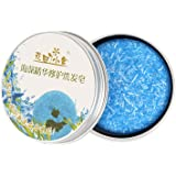 Qlan capelli Shampoo sapone, shampoo solido solido, saponetta bio vegetale naturale olio essenziale 100% fatti a mano Shampoo