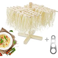 Yimai Fresh Pasta Dryers Wooden Noodle Hanger Practical Home Spaghetti Holder