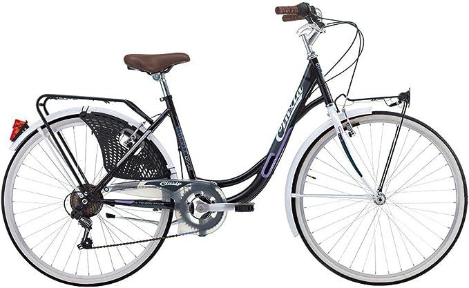 Bicicleta Cicli Cinzia Liberty de mujer, con marco de acero ...