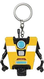 Amazon Com Claptrap Pocket Pop X Borderlands Mini Figure Keychain