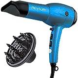Revlon 1875W Ultra Lightweight Hair Dryer, Blue
