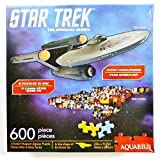 Star Trek: The Original Series Enterprise 2-Sided 600-Piece Shaped Puzzle