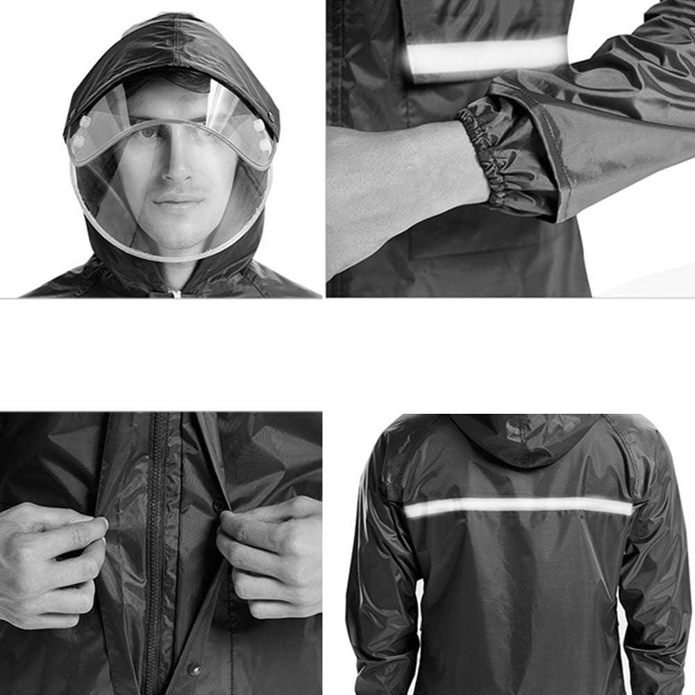 Saoye Fashion Pengfei Lover Raincoat Rainwear Raincoat Poncho Waterproof Sun Protection Viaggio Giovane Outdoor Pesca Traspirante 2 Colori 4 Rot