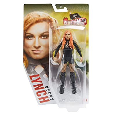 WWE Wrestlemania 6-inch (15.24 cm) Action Figure, Becky Lynch: Toys & Games