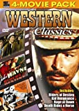 Western Classics 4 pack - Kid Vengeance, Rage at Dawn, Death Rides a Horse, Riders of Destiny