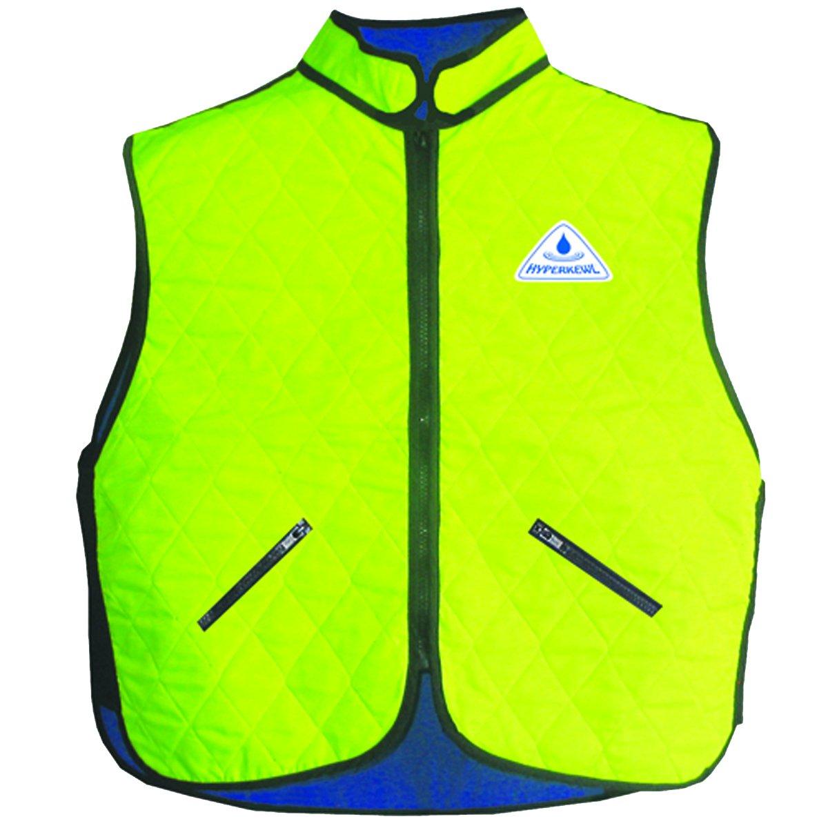 TECHNICHE INT'L HYPERKEWL EVAPORATIVE Cooling Deluxe Sport Vest - HI VIZ Lime